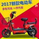 远航科技电动车48v新款电动自行车双人电瓶车小型踏板车助力车